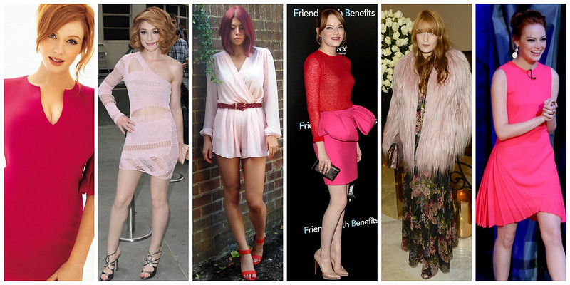 How to Wear Pink for Redheads
