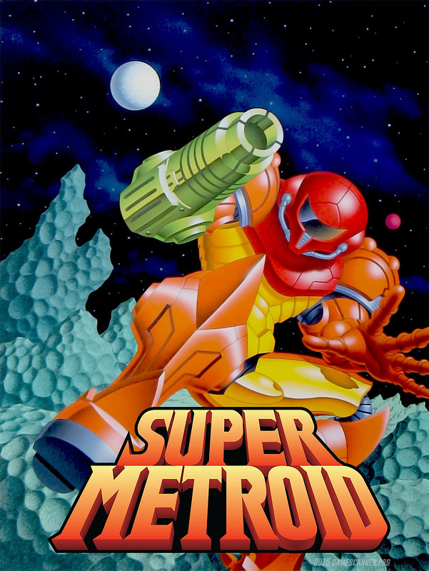 Super Metroid Poster by gamescanner.org