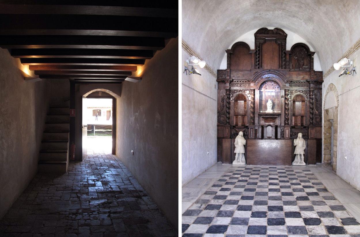 castillo santa catalina_cadiz_capilla_retablo barroco_saavedra