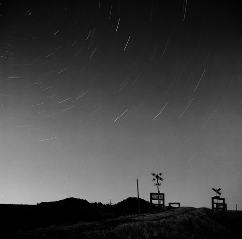 Starlit sky & The small crossing