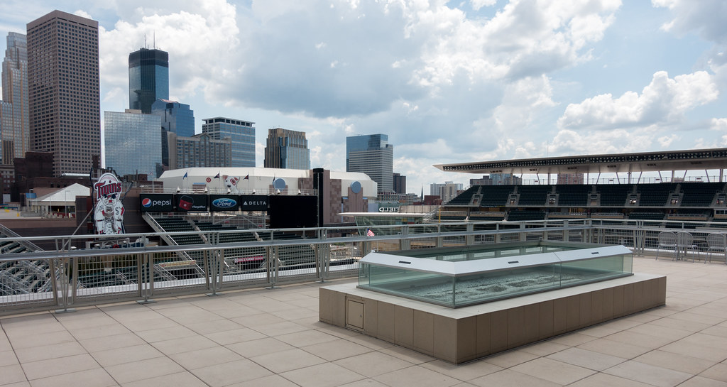 Target Field | Outdoor fire pit on the Bu… | Flickr