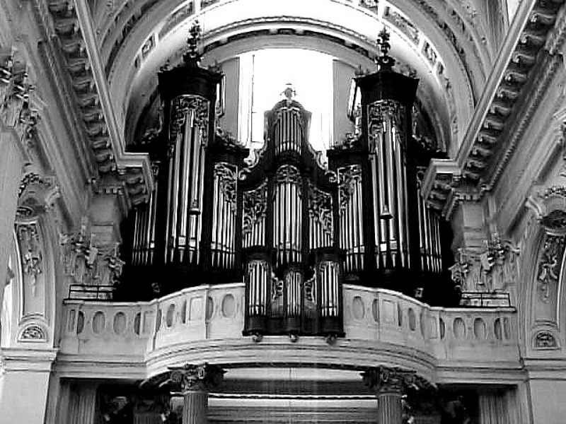 Organ of St. Urs Cathedral, Solothurn