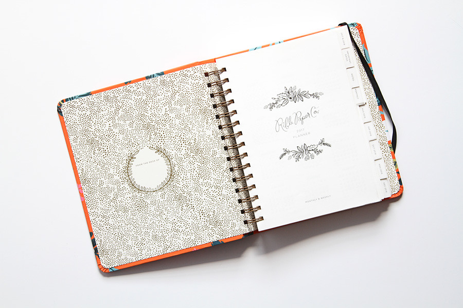 inside cover page of a planner notebook www yourbestdigs c flickr