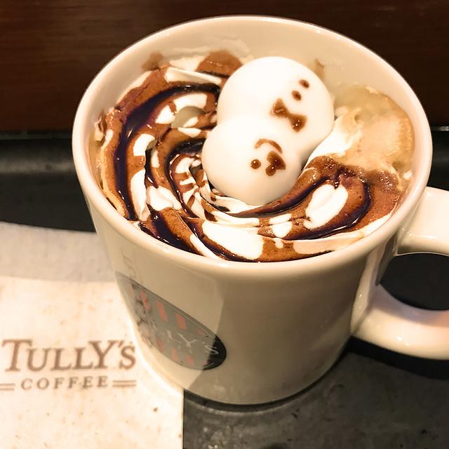 スノーマンラテ|snowman latte