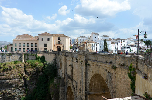 El Tajo Bridge of Ronda, Spain