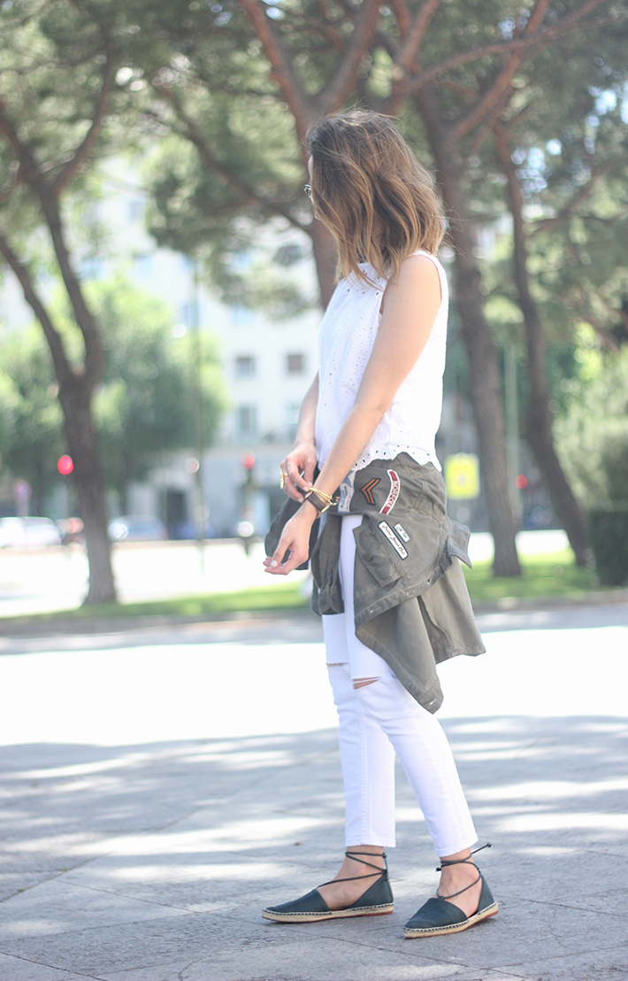 espadrilles with white outfit06