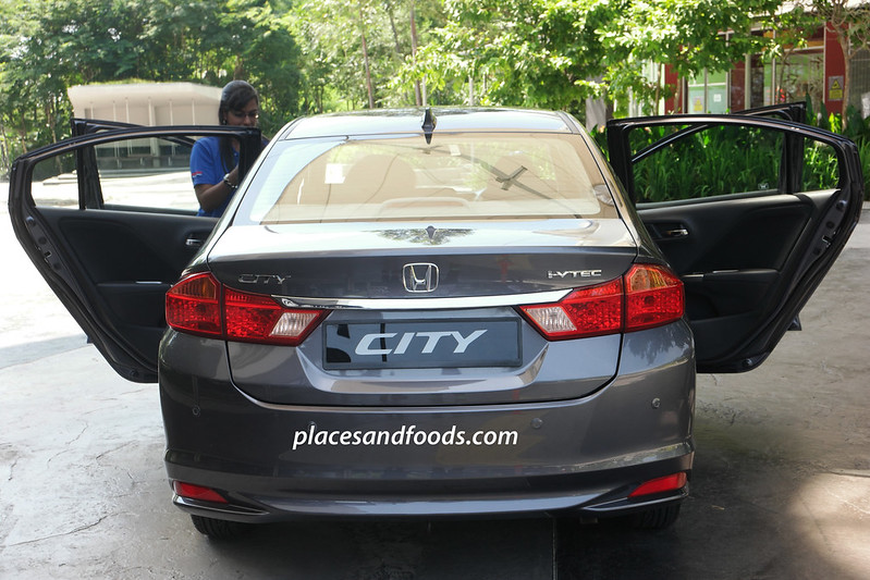 honda city 2015 back view