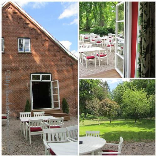 ©Terrasse Café Alte Schule auf Gut Wulfshagen in Tüttendorf