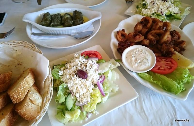 Lunch at ithaca greek mediterranean restaurant stenoodie for Asian cuisine ithaca