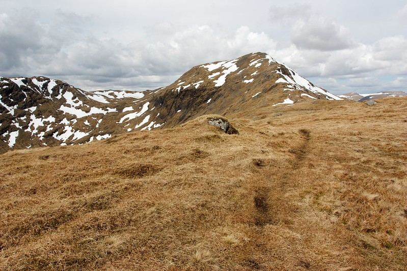 The ridge to Creag Mhor