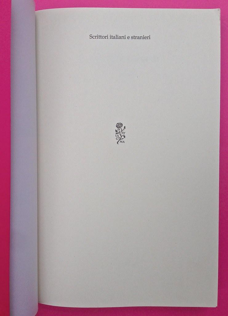 Alberto Milazzo, Uomini e insetti. Mondadori 2015. Art director Giacomo Callo; graphic designer Andrea Geremia. Pagina dell'occhiello, a pag. 1 (part.), 1