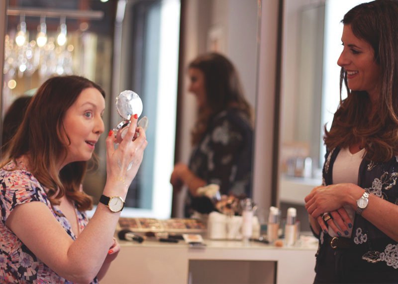 What's involved in a wedding make up trial, Bumpkin Betty