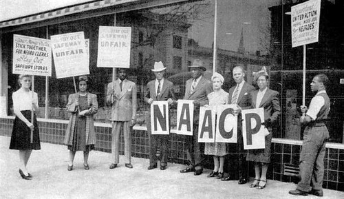 NAACP Joins 'Don't Buy Where You Can't Work' - 1941
