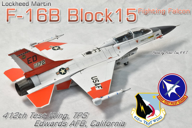 "1/72 F-16B Block15 Fighting Falcon ""TPS"""