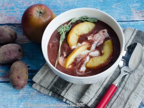 Kartoffel-Sauerkraut-Suppe mit Apfel (2)