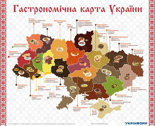 гастрономична карта украини