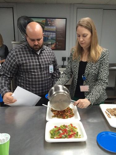 Chris Facha samples the new pepper/onion blend
