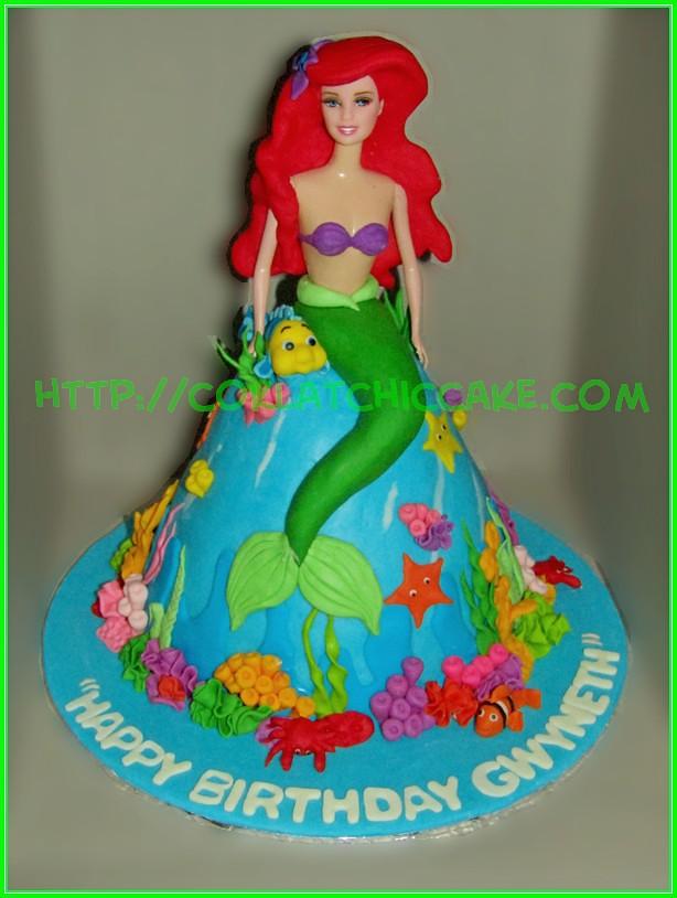 Cake princel ariel