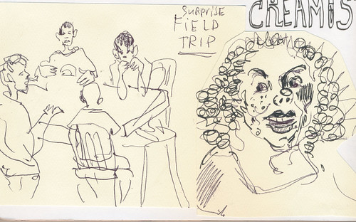 Sketchbook #101: School Field Trip