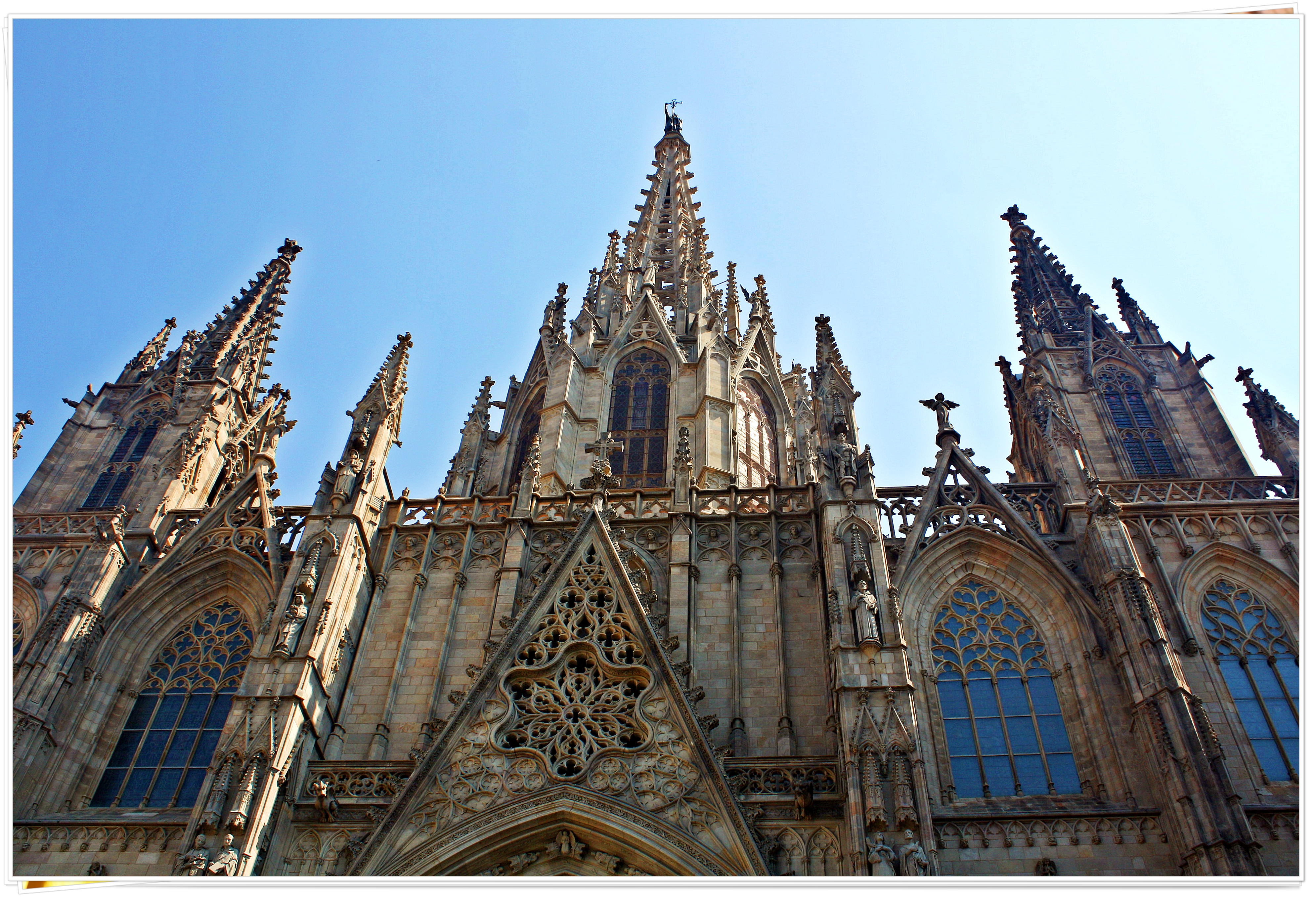 Barcelona Cathedral - Barcelona, Spain 2013