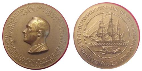 1933 Roosevelt Inaugural Medal
