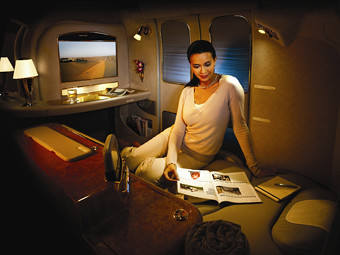 Emirates First Class Suite (Emirates)