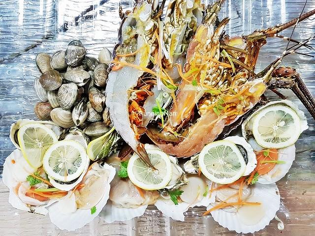 Display Of Fresh Seafood