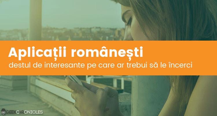Aplicatii romanesti