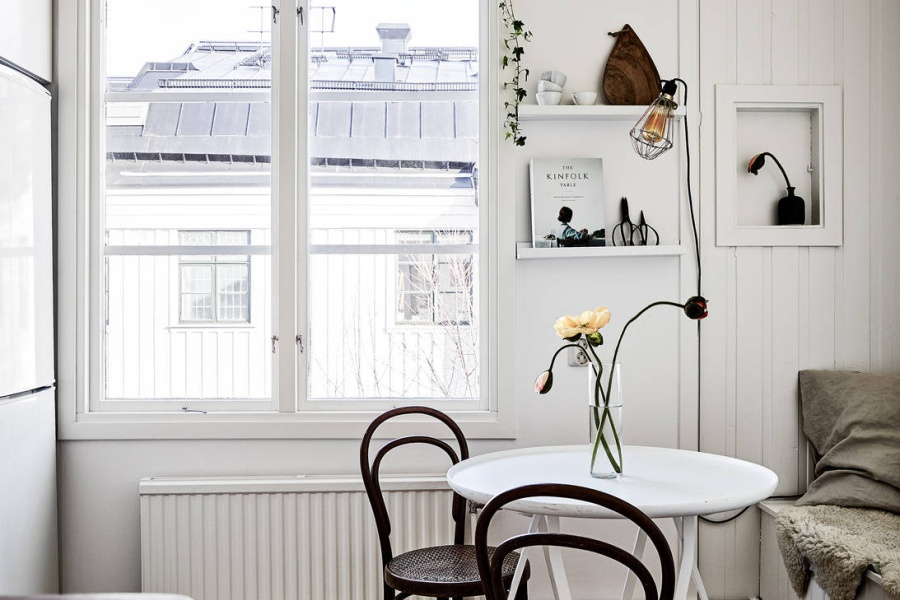 Lovely Scandinavian Home with Warm Tones