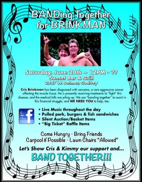 BANDing Together for BRINKMAN 6-20-15