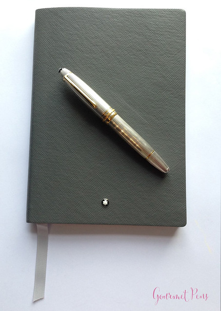 Review Montblanc #146 Flannel Notebook @AppelboomLaren @Montblanc_World (11)