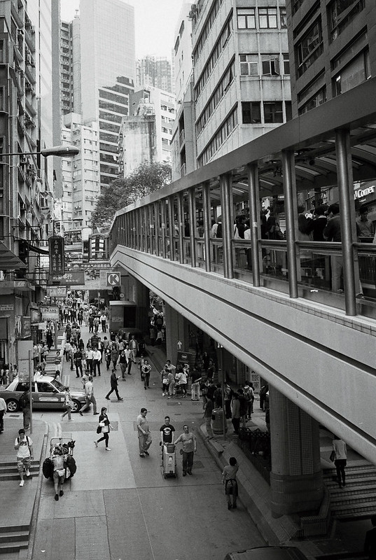 Mid-Levels Escalator Streets