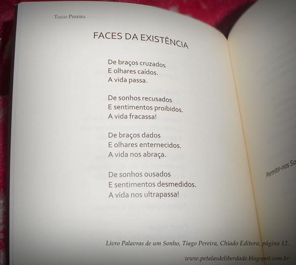 Faces da Existência, Palavras de um Sonho