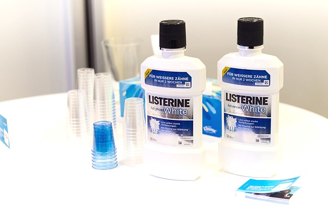 beautypress Event, Listerine Advanced White