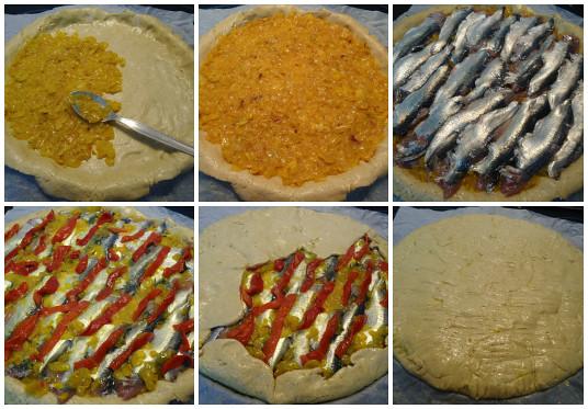 montaje empanada