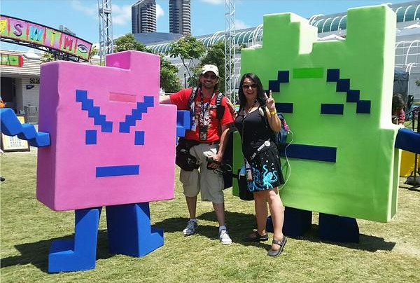 San Diego Comic-Con 2015 Cosplay - Aqua Teen Hunger Force