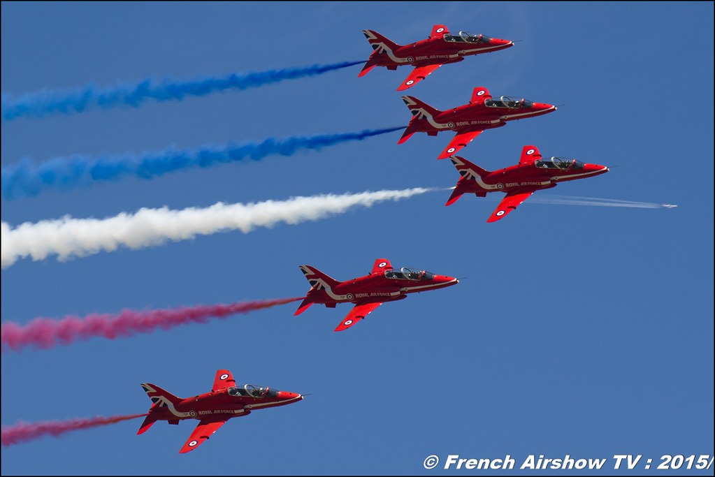 Red Arrows , patrouille acrobatique de la Royal Air Force, BA-116 Luxeuil 2016 , Meeting de l'air luxeuil, Meeting Aerien 2015