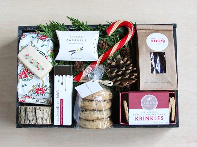 Печенье в коробках на подарок 921