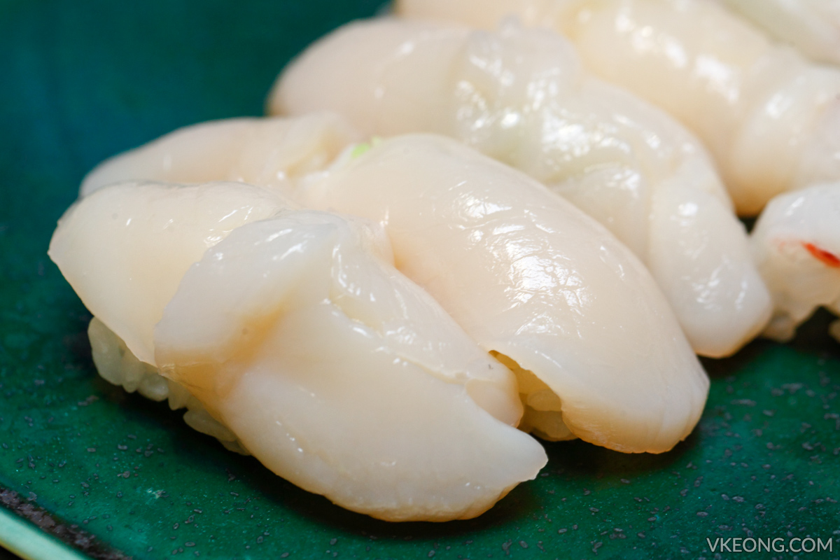 Sushi Azabu Scallop Nigiri Isetan The Japan Store KL