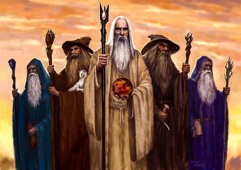 Orta Dünya Büyücüleri