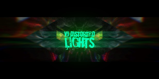 VJ Distorted Lights (4K Set 12)