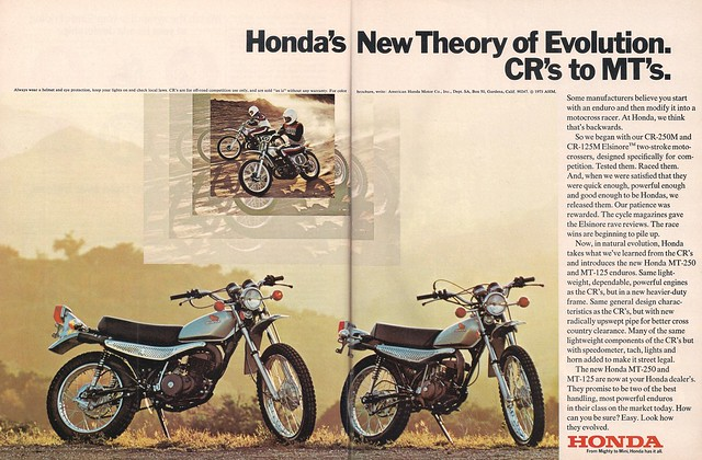 Honda MT125 MT250