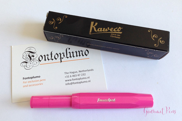 Review Kaweco Sport Skyline Pink Fountain Pen @Fontoplum0 @Kaweco (1)