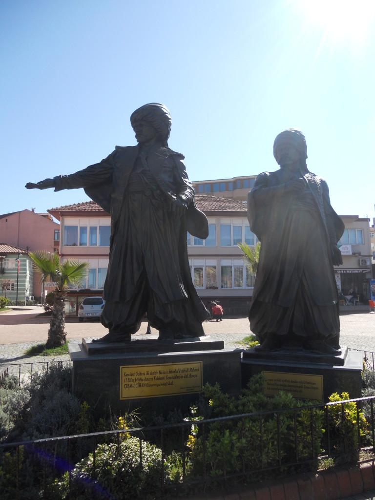 Amasra-II. Mehmed 雕像