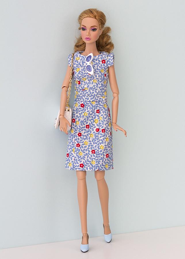 Vestido hecho a mano Barbie