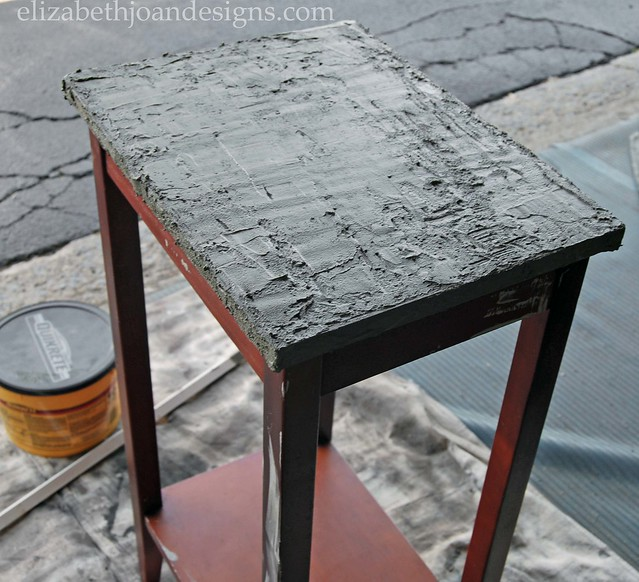 Concrete Table Makeover