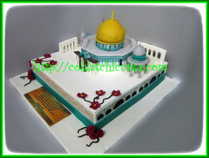 Cake Masjid/Mesjid Aqsa