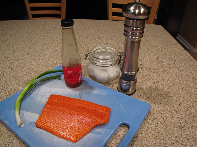 Sweet Chili Glazed Salmon Ingredients