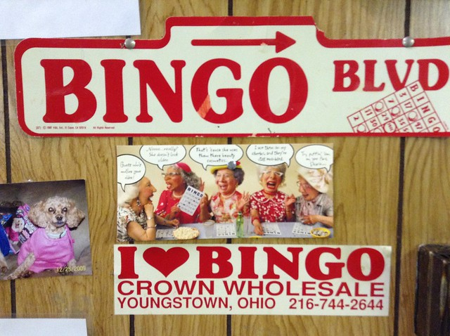Sallmen's Hall hosts Bingo