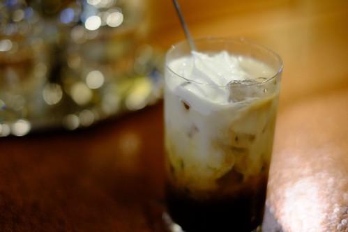 カフェ・カルディ(横浜・綱島の喫茶店):アイスカフェラテ